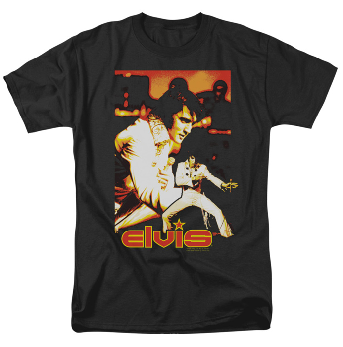 Elvis T Shirt Showman Mens Black