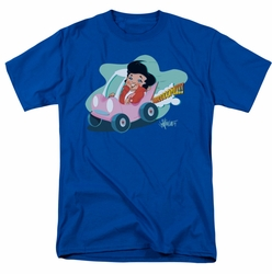 Elvis t-shirt Speedway mens royal