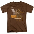 Elvis t-shirt The Hillbilly Cat mens coffee