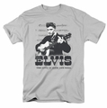 Elvis t-shirt The King Of mens silver