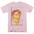 Elvis t-shirt Trouble With Girls mens pink