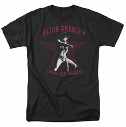 Elvis t-shirt Viva Las Vegas Star mens black