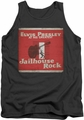 Elvis tank top Greatest mens charcoal