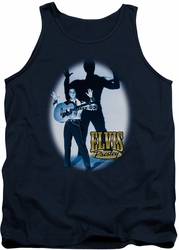 Elvis tank top Hands Up mens navy