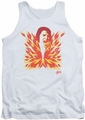 Elvis tank top His Latest Flame mens white