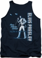 Elvis tank top One Night Only mens navy