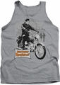 Elvis tank top Roustabout Poster mens heather