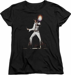 Elvis womens t-shirt Glorious black