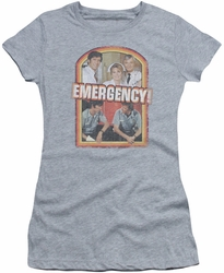 Emergency juniors t-shirt Retro Cast heather