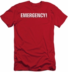Emergency slim-fit t-shirt Logo mens red