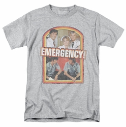 Emergency t-shirt Retro Cast mens heather