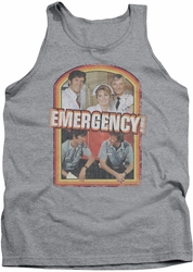 Emergency tank top Retro Cast mens heather