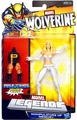 Emma Frost action figure Wolverine Legends with Puck piece