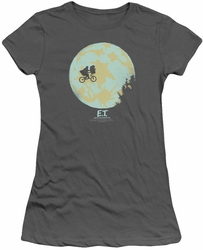 ET juniors t-shirt In The Moon charcoal
