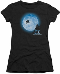 ET juniors t-shirt Moon Scene black