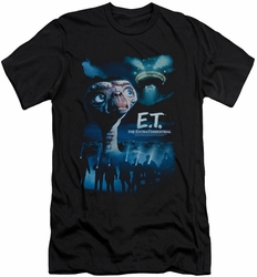 ET slim-fit t-shirt Going Home mens black