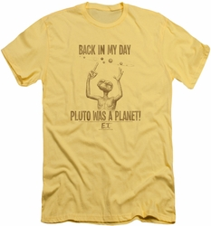 ET slim-fit t-shirt In My Day mens banana
