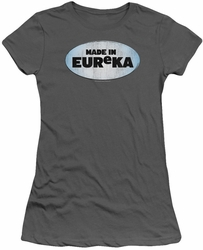 Eureka juniors t-shirt Made In Eureka charcoal