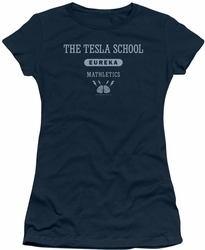 Eureka juniors t-shirt Tesla School navy