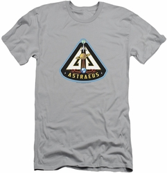 Eureka slim-fit t-shirt Astraeus Mission Patch mens silver