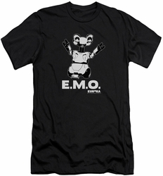 Eureka slim-fit t-shirt Emo mens black
