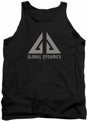 Eureka tank top Global Dynamics Logo mens black