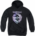 Evanescence youth teen hoodie Thorny Logo black