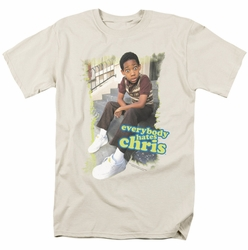 Everybody Hates Chris t-shirt Everybody Hates Chris mens cream