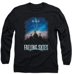 Falling Skies long-sleeved shirt Main Players black