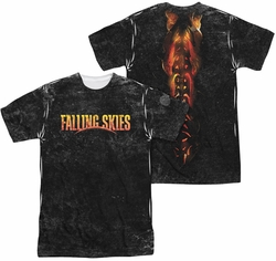 Falling Skies sublimated t-shirt Harness short sleeve