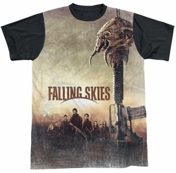 Falling Skies sublimated t-shirt Skitter Head short sleeve