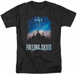 Falling Skies t-shirt Main Players mens black
