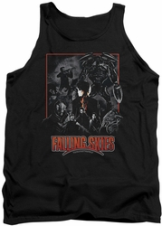 Falling Skies tank top Collage adult black