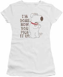 Family Guy juniors t-shirt Pick It Up white