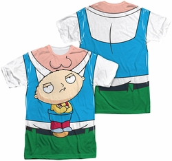 Family Guy mens full sublimation t-shirt Stewie Carrier