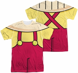 Family Guy mens full sublimation t-shirt Stewie Costume