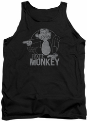 Family Guy tank top Evil Monkey mens black