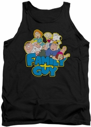 Family Guy tank top Family Fight mens black