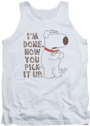 Family Guy tank top Pick It Up mens white