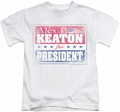 Family Ties kids t-shirt Alex For President white