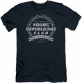 Family Ties slim-fit t-shirt Young Republicans Club mens navy