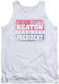 Family Ties tank top Alex For President mens white