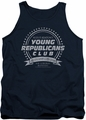 Family Ties tank top Young Republicans Club mens navy