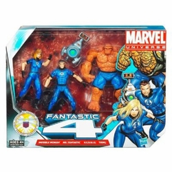 Fantastic 4 action figure set Marvel Universe Legends