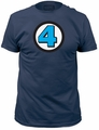 Fantastic Four 4 Fitted Jersey t-shirt