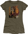 Farscape juniors t-shirt Rygel military green
