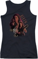 Farscape juniors tank top Aeryn black