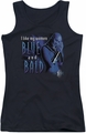 Farscape juniors tank top Blue And Bald black