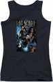 Farscape juniors tank top Comic Cover black