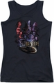 Farscape juniors tank top Criminally Epic black